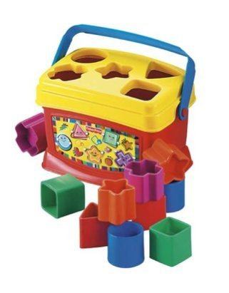 Fisher Price Baby's First Blocks Brilliant Basics Plastic