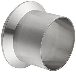 Dixon 14WLI-G300 Stainless Steel 316L Sanitary Fitting, MaIe I-Line Long Weld Ferrule, 3\