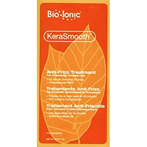 Bio Ionic KeraSmooth Anti-Frizz Treatment For Chemically Treated Hair 16.9 oz