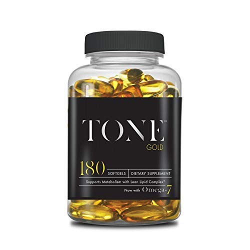 Complete Nutrition Tone Gold, Supports Body Fat Loss, Metabolism & Weight Management, Omega 7, 6 & 3, Sea Buckthorn, 180 Softgels by Complete Nutrition (Image #4)