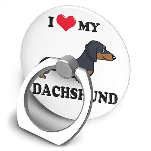 Phone Ring Holder Stand I Love My Dachshund Dog Phone Ringer Bracket for - Ringer Dachshund