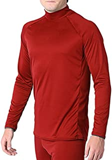 product image for WSI Arctic Microtech Long Sleeve Performance Shirt, Scarlet, Youth Large