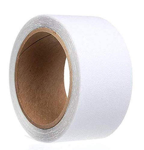 Waterproof Tape,Skid Tape Roll High Traction Strong Grip,Safety Tape,Bath Stickers Comfortable for Bare Feet 2 Width 196 Long 2 Width 196 Long SHION Bath Stickers Comfortable for Bare Feet