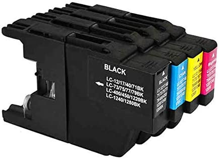 3 Black, 3 Cyan, 3 Magenta, 3 Yellow ZET Remanufactured Ink Cartridge Replacement for Brother LC75 XL LC79 XL LC12 LC17 LC71 LC40 LC73 LC77 LC400 LC450