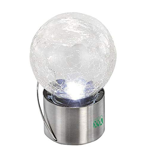 Solar Crack Ball Hanging Lamp Outdoor Colorful Landscape Lamp