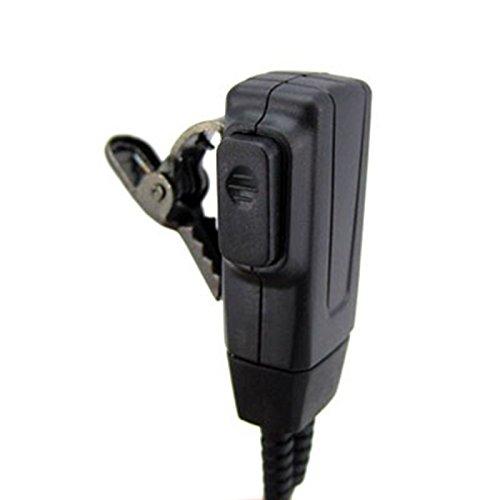 Cikuso 1 Pin FBI Gancho de Oreja Auricular Tipo D Auricular PTT para Motorola Talkabout Radio Portatil TLKR T3 T4 T60 T80 MR350R Walkie Talkie FR50