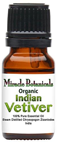 Miracle Botanicals Organic Vetiver Essential