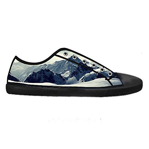 Canvas Panno Lace Montagne A Innevate Up Scarpe Sneakers Di High Tela Men' Shoes S Vela Dalliy Top xfI5056