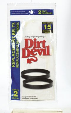 6 Genuine Royal Dirt Devil Style 15 Belts Use In Dirt Devil Bagged Vacuum Cleaners