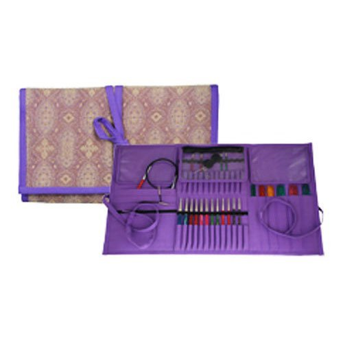 Knitter's Pride Violet Dream Multi Needle & Accessories Fabric Case 800127 by Knitter's Pride
