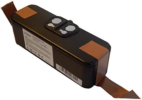 vhbw Batería Li-Ion 4500mAh (14.4V) para aspiradoras, robot aspirador iRobot Roomba 620, 625, 630, 650 reemplaza 11702, GD-Roomba-500.