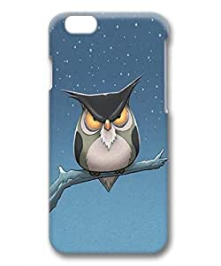 iphone 6 case,iphone 6 PC 3D casefashion Style Fancy Colorful Pattern Back Case Cover Fit for iphone6 ,provides maximum protection for iphone 6,Cute design for iphone 6 ,owl by mcsharks