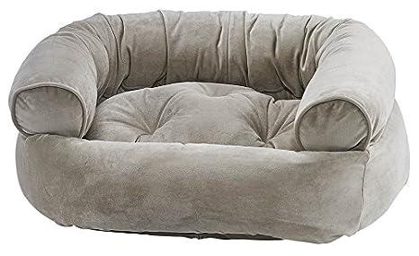 Amazon.com: bowsers double-donut cama para perro en almendra ...