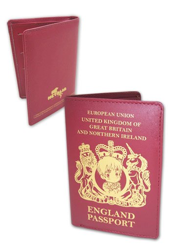 Great Eastern Entertainment Hetalia England Passport Wallet ()