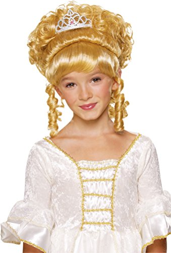 Rubie's Charming Princess Child's Costume Wig, Blonde]()