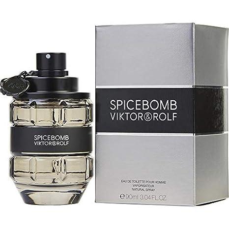 Viktor and Rolf Spicebomb Eau de Toilette Spray for Men, 1.7 Ounce Victor & Rolf SPBMTS17-A