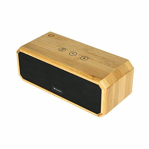 BONSAI//Bamboo Portable Bluetooth Wireless Speaker//10 Hr Playtime//Passive Bass Radiator