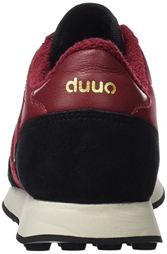 Adulte Noir DUUO Baskets Mixte Prisa Argent EU Multicolore xxp1wOt7