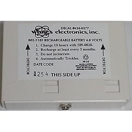 White S 4 8 Volt Rechargable Battery