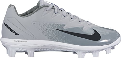 NIKE Men's Vapor Ultrafly Pro MCS Baseball Cleat Wolf Grey/White/Cool Grey Size 10 M US