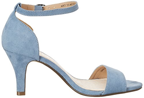 Bianco Low Basic Sandal Mam16 - Tacones Mujer Azul (Light Blue)