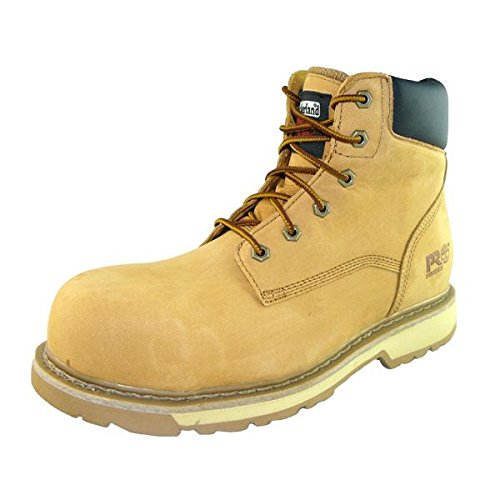 Timberland Mens Traditional Leather Lace up Work Safety Boot Wheat