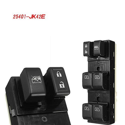 Iris-Shop - 25401-JK42E Power Window Master Switch For Nissan Maxima For Infinit G25 G35 G37 Q40 2007-2015