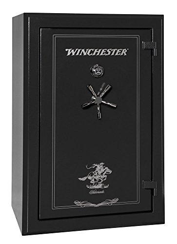 Winchester Silverado Gun Safe- 48 Gun Capacity- Black w/Dial Lock