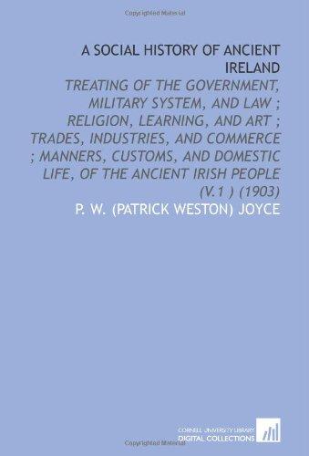 Download A Social History of Ancient Ireland, Vol. 1 PDF