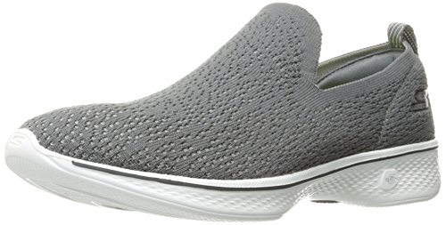 Skechers Performance Women's Go 4-14918 Walking Shoe, Charcoal, 8 M US