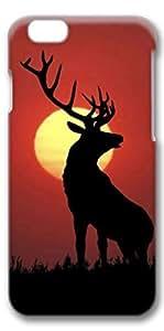 Samsung Galxy S4 I9500/I9502 Case, Hot Sell 4.7inch 3D Slim Protective Case Cover for Samsung Galxy S4 I9500/I9502 (4.7 inches)- Horned Deer