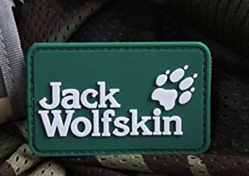 cheap for sale new high top design TRACKER PAW ICON JACK WOLF SKIN 3D TACTICAL ARMY MORALE PVC ...