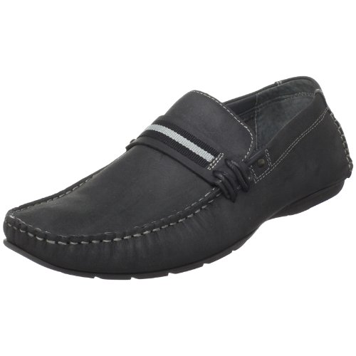 official site online best prices for sale Steve Madden Men's Grab Slip-On Black Leather cheap sale wholesale price brand new unisex cheap price cheap new wnIvq