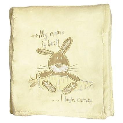 Del bebé Snuggle easyworld de conejo con estampado de escudo de ...