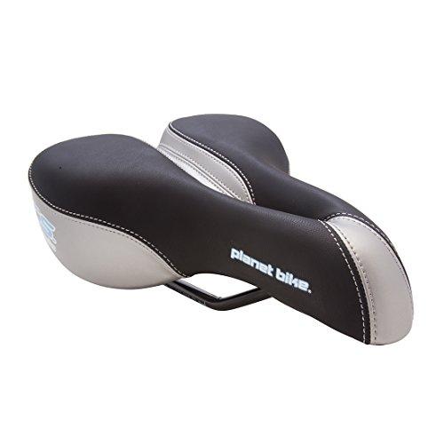 (Planet Bike A.R.S. Classic bike seat - Women's (black & silver))