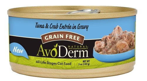 Breeder's Choice Avoderm Natural Tuna & Crab Meat Entree 5oz