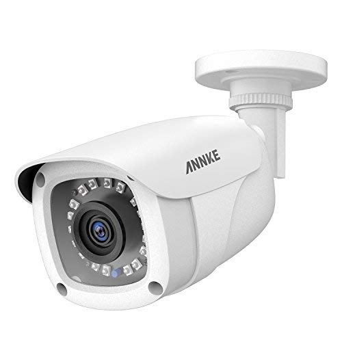 (ANNKE 1080P CCTV Home Surveillance Bullet Camera, Security Camera with IP66 Weatherproof and Dustproof for Outdoor Use)