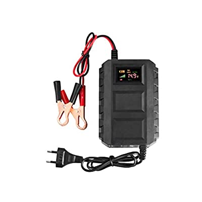 Vosarea KC-20A Motorcycle Battery Charger 12V 20A for Truck Battery Lead Acid Charger with EU Plug