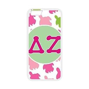 iPhone 6 Plus 5.5 Inch Cell Phone Case White Delta Zeta Turtles Idqte