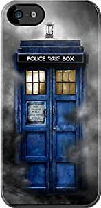 SUUER Tardis doctor who - Tardis in the cloud Custom Hard CASE for iPhone 5 5s Durable Case Cover