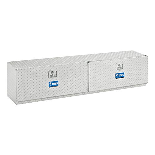 Tool Top Box Side - UWS EC40041 72-Inch Aluminum Double-Door Topside Tool Box