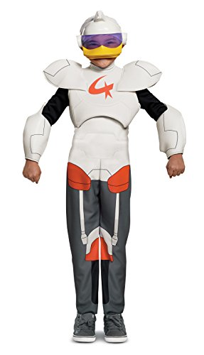Duck Tales Costume (Disguise Gizmo Duck Deluxe Child Costume, White,)