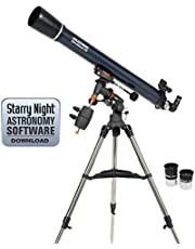 Save on Celestron 21064 AstroMaster 90EQ Télescope réfracteur and more