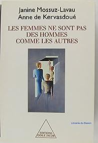 Les femmes ne sont pas des hommes comme les autres par Anne de Kervasdoué