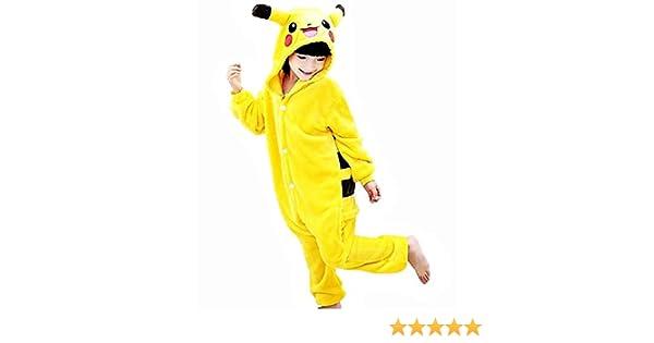 Disfraz de pikachu para niños - pijama de una pieza - pikachu ...