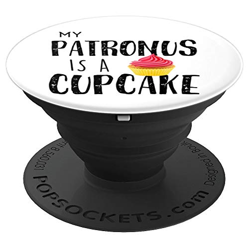 My patronus is a cupcake funny gift - PopSockets Grip and Stand for Phones and Tablets