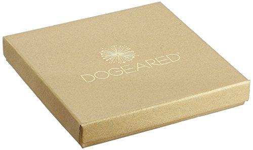 dogeared Karma Collier perle avec de petites graines de Blanc, en or trempé