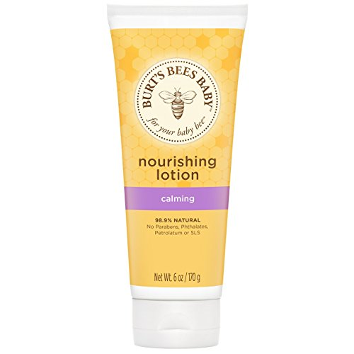 Burt's Bees Baby Nourishing Lotion, Calming, 6 Ounces (Pack of 3) (Packaging May Vary)