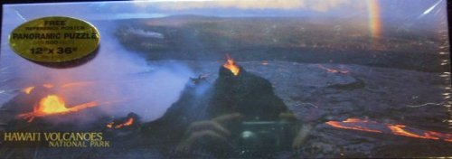 - Hawai'i Volcanoes National Park Over 500 Piece Panoramic Puzzle