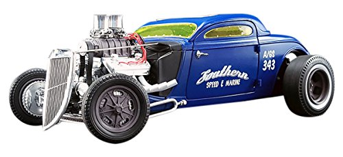 GreenLight (1:18 Scale) 1934 Blown Altered Coupe - Southern Speed & Marine - GMP-18829 - Die-Cast Vehicle by Greenlight